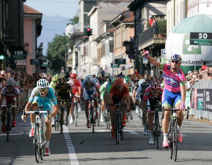 la vittoria di Filippo Pozzato alla Coppa Agostoni 2013