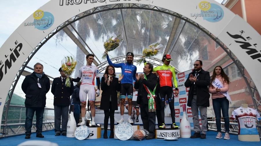 podio Laigueglia 2018
